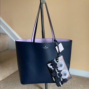 Kate Spade leather zibbi medium tote bag